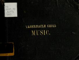 Tabernacle Choir Music: Hymns and Anthems (Beesley) (1883)