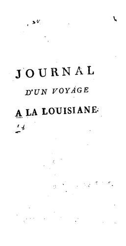 Download Journal d'un voyage a la Louisiane, fait en 1720