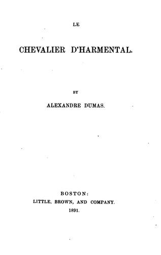 Download Le chevalier d'Harmental.