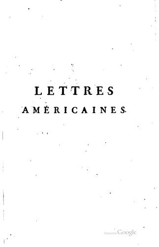 Download Lettres américaines