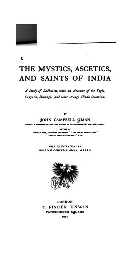 Download The mystics, ascetics, and saints of India