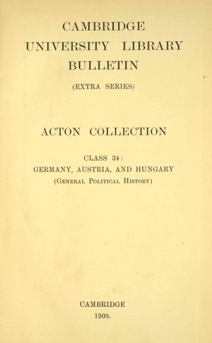 Acton collection