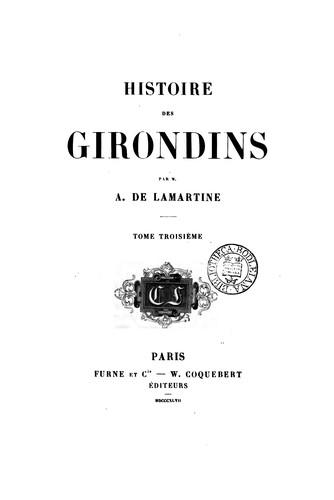 Download Histoire des Girondins