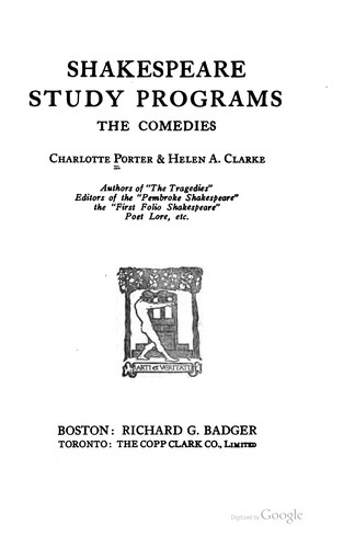 Download Shakespeare study programs