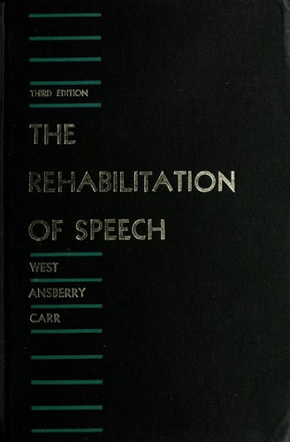 Download The rehabilitation of speech