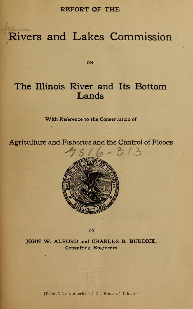 title page of report
