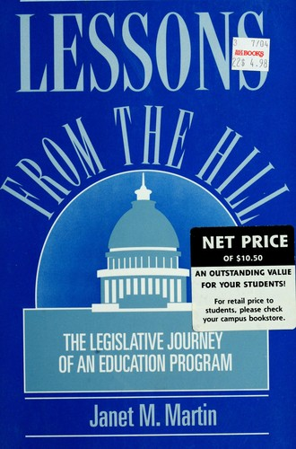 Lessons from the Hill by Janet M. Martin