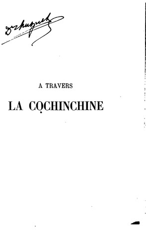 À travers la Cochinchine by Raoul Postel